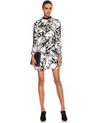 A.L.C. Isley Silk Dress - Lyst