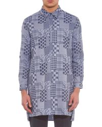 Richard Nicoll - Patchwork-Print Cotton Shirt - Lyst