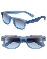 Converse 'Lineup' 50Mm Retro Sunglasses - Lyst