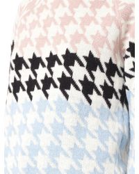 Tak.ori - Cortina Hound's-tooth Knit Sweater - Lyst