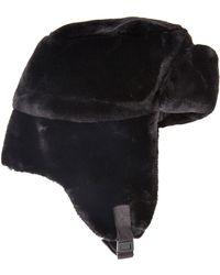 Weatherproof Faux Fur Bomber Hat - Lyst