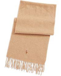 Polo Ralph Lauren Wool Scarf - Lyst