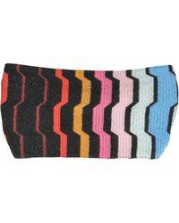 Missoni Viscose  Lurex Knit Headband - Lyst