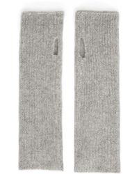 White + Warren - Cashmere Plush Rib Arm Warmer - Lyst