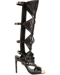 Ivy Kirzhner - Venezian Laser Cut Sandals - Lyst