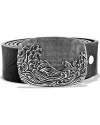 David Yurman - Waves Belt Buckle - Lyst