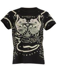 Givenchy Gemini T-shirt - Black