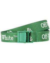 Off-White c/o Virgil Abloh Mini ceinture Industrial New Logo - Vert