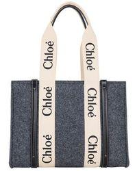 Chloé Woody Tote Bag - Multicolour
