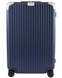 RIMOWA Valise Hybrid Check-In L - Bleu