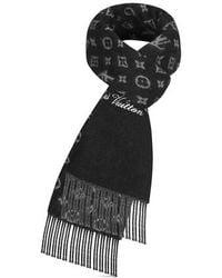 Louis Vuitton Lv Rainbow Scarf - Black