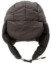 Rains Puffer Hat - Black