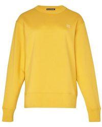 Acne Studios Fairview Sweatshirt - Yellow