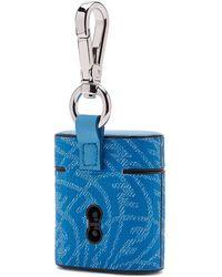 Fendi Airpods® Holder Case - Blue