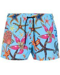 Versace Swim Shorts - Blue