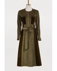 JOUR/NÉ - Corduroy Army Dress - Lyst