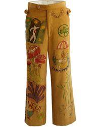 Bode Senior Cord Trousers - Multicolour