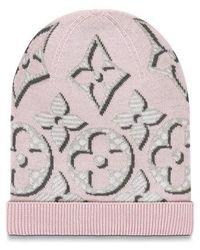 Louis Vuitton Giant Pop Monogram Hat - Pink