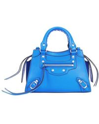 Balenciaga Tasche Neo Classic City kleines Modell - Blau