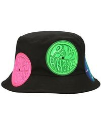 Palm Angels Patched Hat - Green