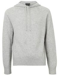 Tom Ford Cashmere Hoodie - Gray