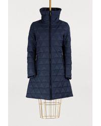 Fusalp - Kate Triangle Pattern Long Jacket - Lyst