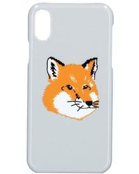 Maison Kitsuné Fox Case For Iphone X - Grey