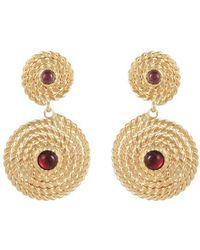 Gas Bijoux Onde Lucky Mini Earrings - Red