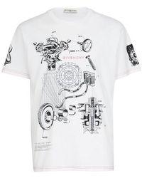 Givenchy T-shirt imprimé - Blanc