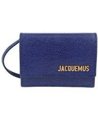 Jacquemus Mini Bello Crossbody Bag - Blue