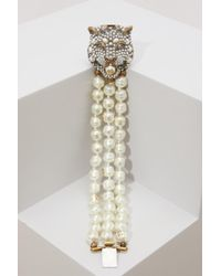 Gucci - Pearl Bracelet - Lyst