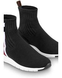 Louis Vuitton Aftergame Sneaker Boot - Black
