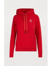 Étoile Isabel Marant Malibu Cotton Sweatshirt - Red