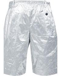 Dries Van Noten Penny Shorts - Metallic
