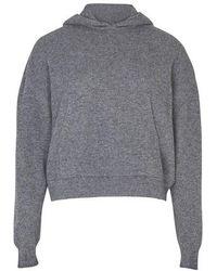 Nanushka Mog Sweatshirt - Gray
