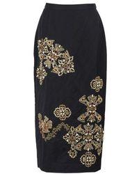 Biyan Nobel Skirt - Blue