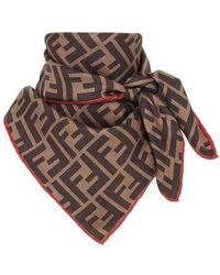 Fendi Rama Foulard - Multicolour
