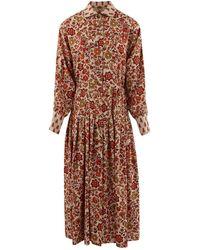 Dodo Bar Or Anna Belle Printed Dress - Brown