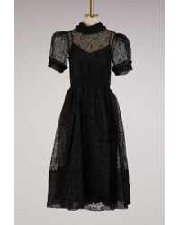 Simone Rocha   Smocked Waist Dress   Lyst
