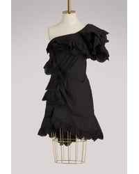 Isabel Marant - Jiska Ruffled Dress - Lyst