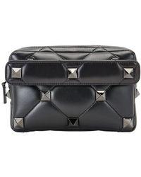 Valentino Garavani - Roman Stud Bag - Black