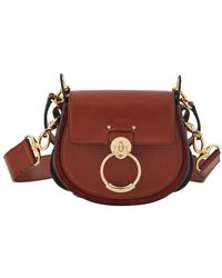 Chloé Sac brun Small Tess - Marron