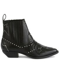 Roseanna Tucson Ankle Boots - Black