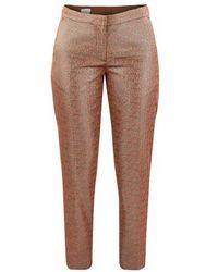 Dries Van Noten Metallic Trousers - Multicolour