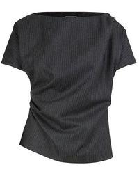 Dries Van Noten Woollen top - Grau