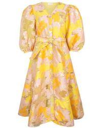 Stine Goya Kleid Amira - Gelb