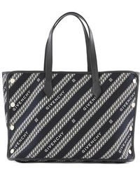 Givenchy Sac shopping bag Bond modèle moyen - Noir
