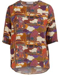 Roseanna Martial Top - Multicolor