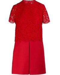 Valentino Short-sleeved Dress - Red