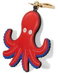 Loewe Octopus Charm - Red